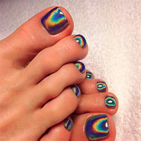toe nail color best 25 painted toe nails ideas on