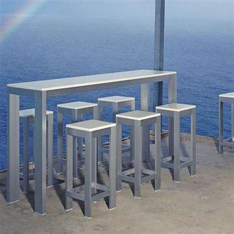 Outdoor Bar Height Table   Sosfund