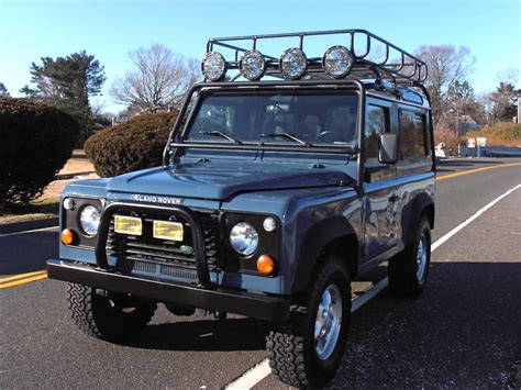 90s land rover for sale 1997 land rover defender 90 sw antique auto sales