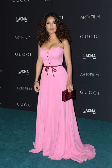 Salma Hayek When Bad Shoes Happen To Dresses by Salma Hayek Evening Dress Salma Hayek Looks Stylebistro