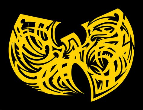wu tang tribal crest new logo crest design i created