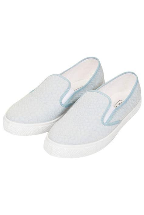 light blue slip on vans shoes slippers trainers vans light blue snake skin