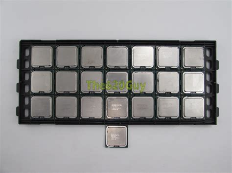Procesor Inte Pentium Dual E5200 250ghz 1 Tray Lot Of 22 Intel Pentium Dual Socket 775 Wolfdale
