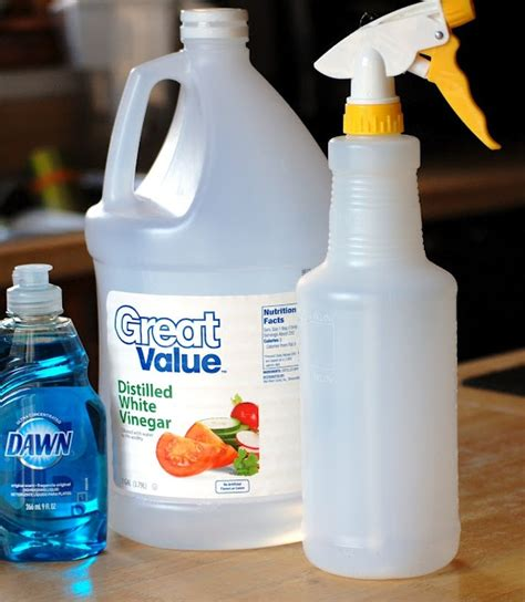 vinegar bathtub cleaner non toxic bathroom cleaner vinegar dawn it really