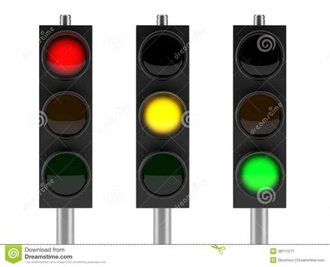 set lights to set of traffic lights stock image image 28111271