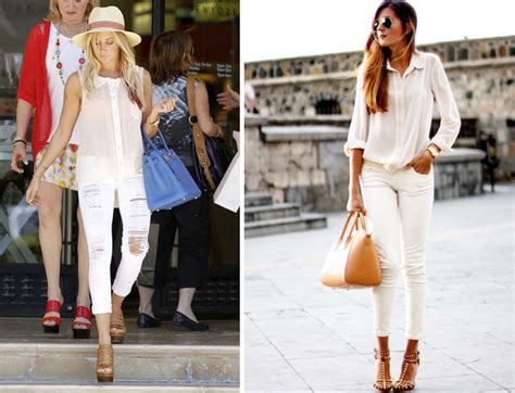 how to wear white 6 different ways lena penteado