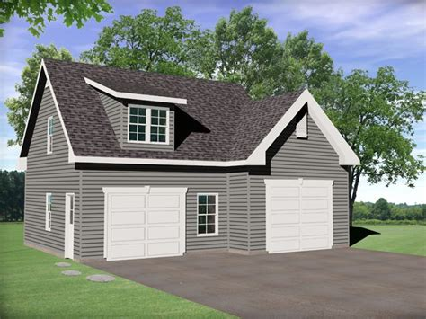Just Garage Plans by Front View