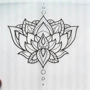 Lotus Flower Tribal Lotus Flower Pic Tattoos My Photo Bag Tats