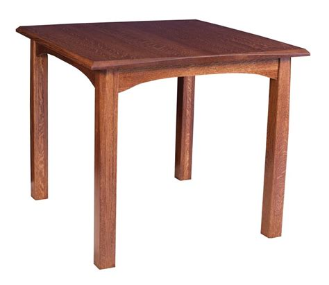 amish lavega mission leg table