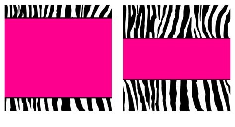 free leopard print business card template pink zebra paper and business card templates by stacyo