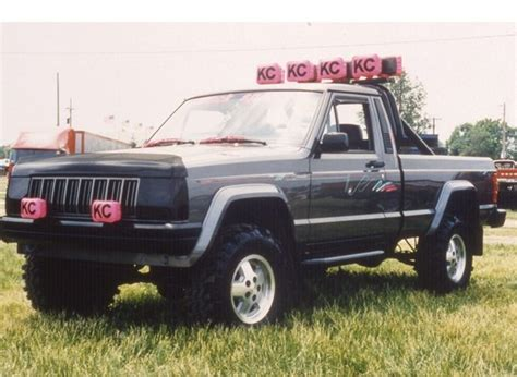 1988 lifted jeep comanche pin comanche lift on pinterest