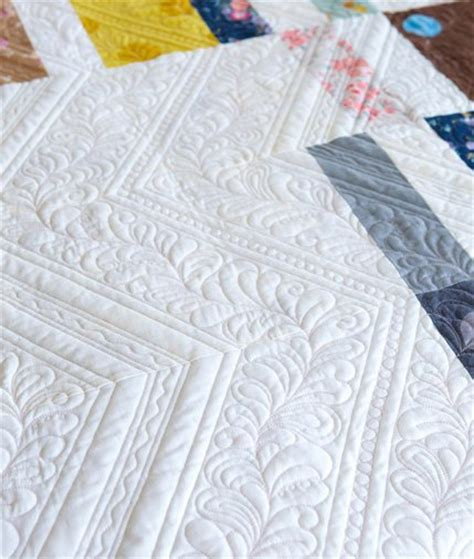 How To Machine Quilt Feathers by Feather Quilting Designs Allpeoplequilt