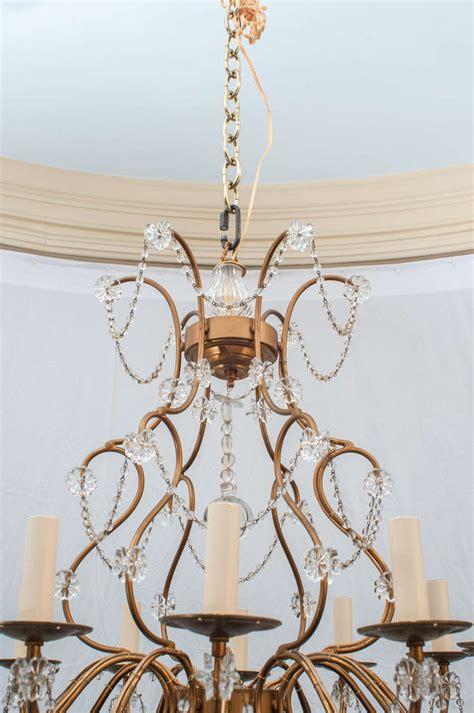 Venetian Style Chandelier Venetian Style 12 Light Chandelier At 1stdibs