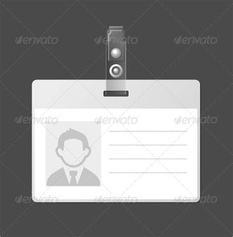 employee id card template vector 10 amazing blank id card templates sle templates