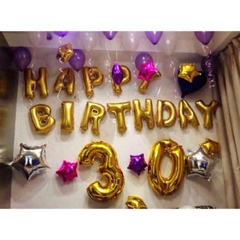 Balon Huruf Gold Grosir 1 Pak Isi 50 Balon balon foil huruf warna gold balloon corner