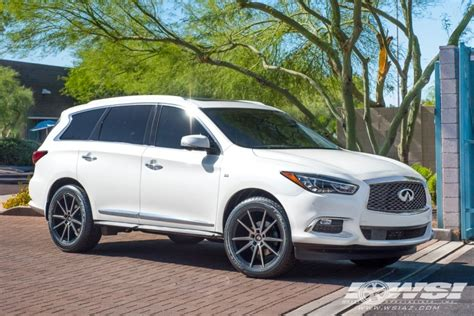 infiniti qx60 rims 2017 infiniti qx60 with 20 quot koko kuture le mans in black