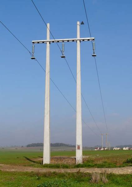electric light pole vandals and thieves target concrete electricity poles
