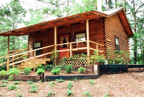 one bedroom log cabin 1 bedroom with loft log cabin the retreat at artesian lakes