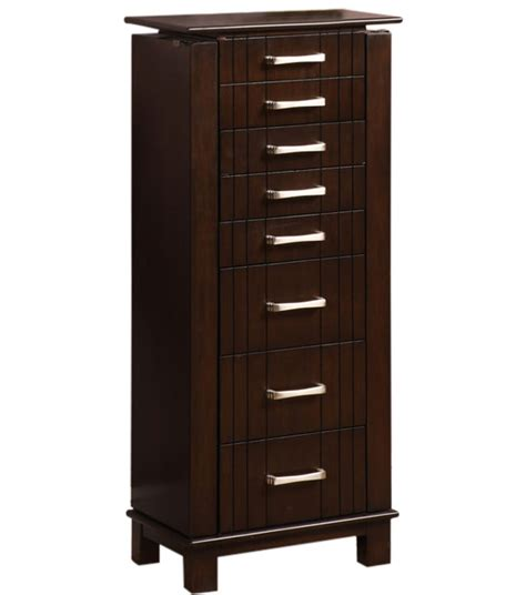 tall jewelry armoire in jewelry armoires