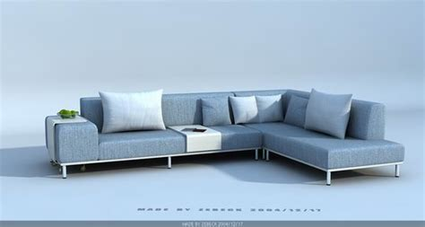 Free Sofas by Modern Style Sofa 3d Model Free 3d Models