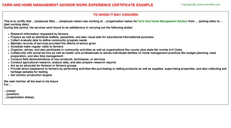 experience certificate sle image collections certificate design and template