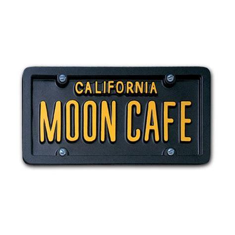 usa custom order license plate california black