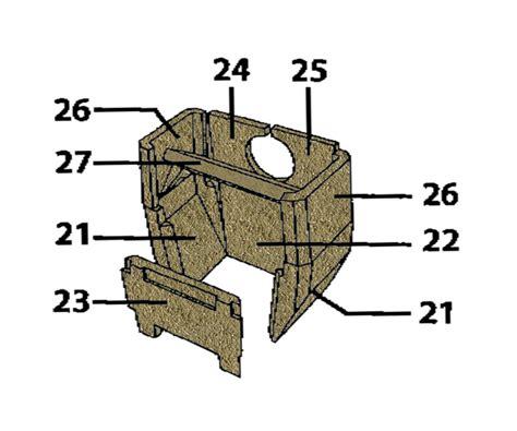 kachelofeneinsatz wechseln schamottsatz dauerbrandofen w 252 rzburg 185 15
