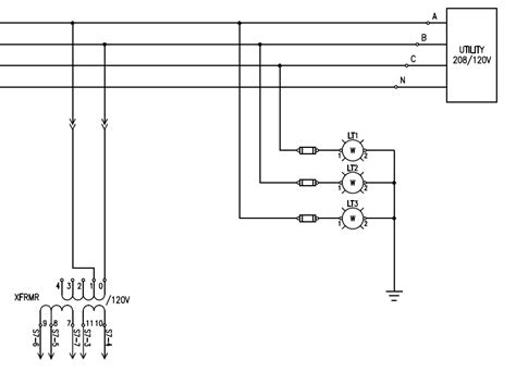 three phase lighting wiring diagram 35 wiring diagram