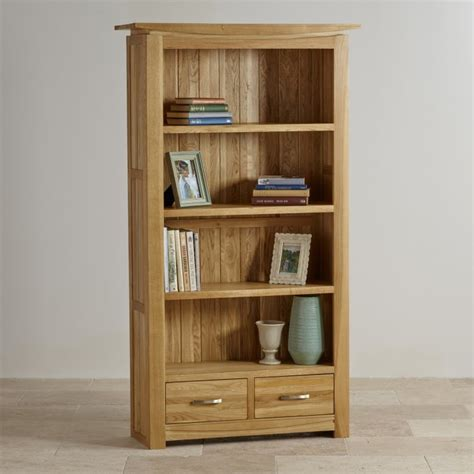 Oak Bookshelf Tokyo Solid Oak Bookcase Living Room Furniture