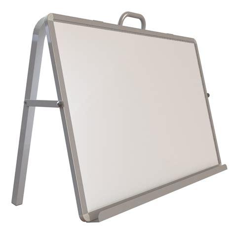 desk erase board read n write desktop easel a desktop easel with single