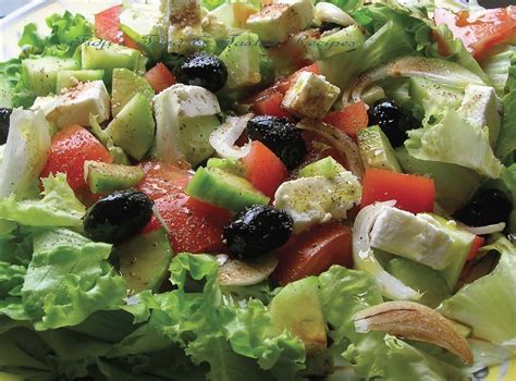 greek salads fidji s tried tasted recipes greek salad