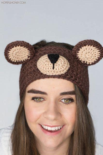 teddy ears headband template teddy headband crochet pattern free crochet