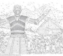 thrones coloring book guide winter is coming and so is the new of thrones