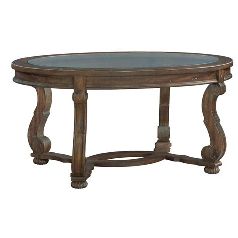 hekman 1 6100 napa valley oval coffee table discount