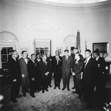 Civil Rights Leaders Back by Image Gallery Kennedy Administration