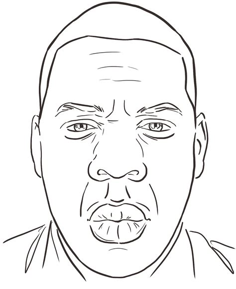Jay Z Coloring Pages For Kids Z Colouring Pages