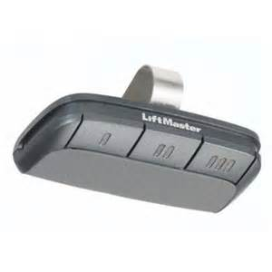 liftmaster remote garage opener 895max