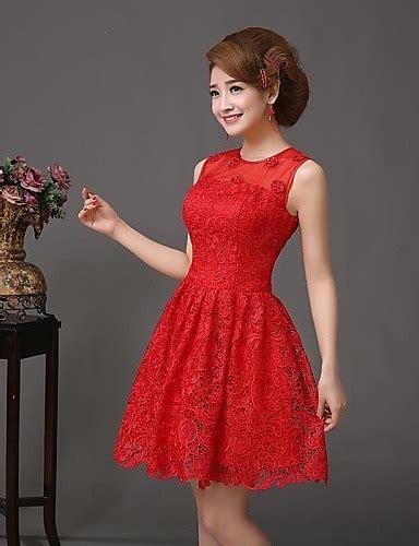 vestidos rojos de encaje cortos vestidos rojos de encaje cortos