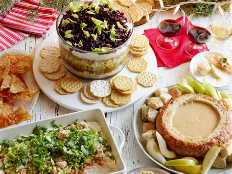 xmas office party dinner recipes dips food network food network