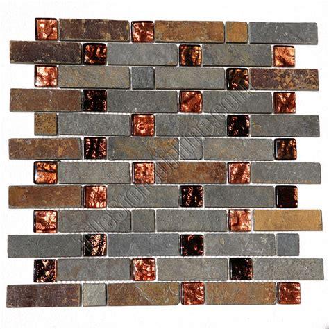 Glass Backsplash In Kitchen pacifica cristallo ardesia caxst841155 copper basket