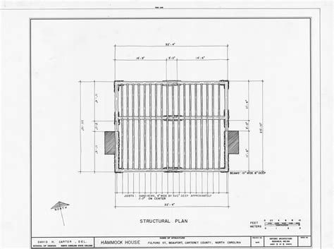 structural house plans structural plan hammock house beaufort north carolina hammock house beaufort n c