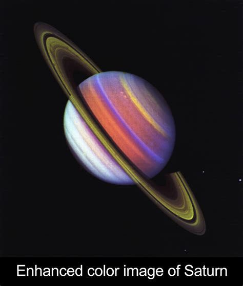 saturn colors gallery of solar system images nasa space place
