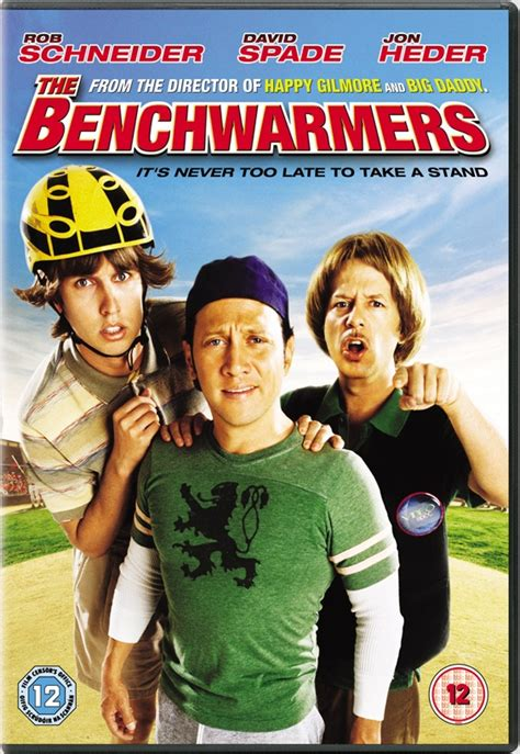 Vcd Original The Benchwarmer news the benchwarmers uk dvd r2 dvdactive