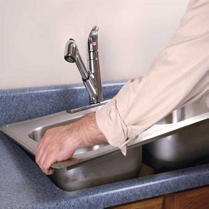 how to replace your kitchen sink how to replace a kitchen sink
