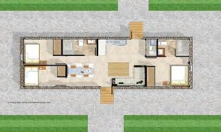 Free Floor Plans For 8x40 Shipping Container Shipping Container Floor Plans Floor Plan Pinterest