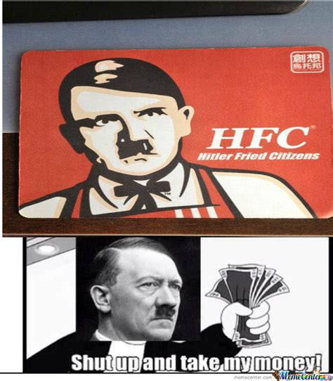 Hitler Reacts Meme - hitler kfc by dastagirpatel007 meme center