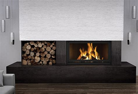 High Country Fireplace by Napoleon High Country 7000 Wood Fireplace Fireplacepro