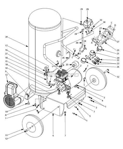 cbell hausfeld parts wl8026 wl802600 wl802600aj air compressors