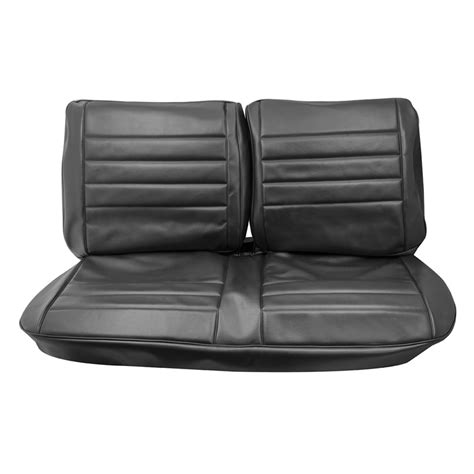 chevelle bench seat 1965 chevelle front bench seat covers black
