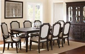 extendable dining room sets cayden extendable rectangular dining room set from steve